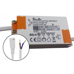 Source de courant 280mA (driver) 18W fixe
